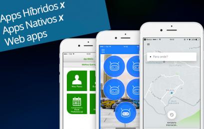 Diferenças :Aplicativo nativo, web App ou aplicativo híbrido